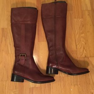 Like new beautiful Cole Haan leather boots